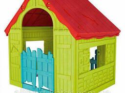 Будиночок Foldable PLAY House зелено-червоний (Keter)