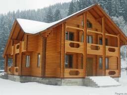Будівництво дерев'яних котеджів, дач, бесідок