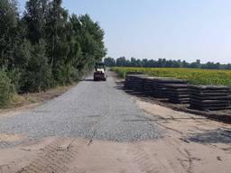 Будівництво під'їзних доріг, майданчиків, тимчасова дорога