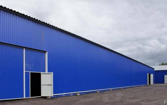 Будівництво складського приміщення 560 м*2