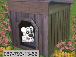 Будка для собаки 1000Х760Х740 - фото 1