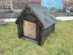 Будка для собаки Фортеця №2 средняя с утеплением. . .