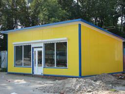 Будуємо магазини (МАФи), склади, холодильні камери та ангари