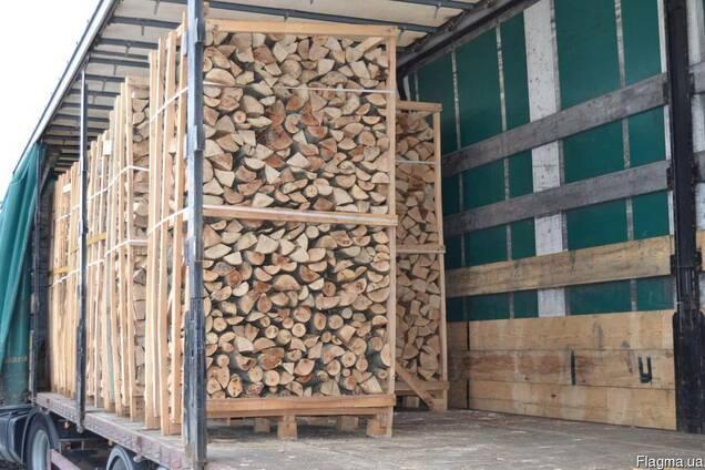 Бук/граб, 25-33см дрова сухие с доставкой на 35 Германию