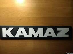 Буквы Kamaz ЕВРО табличка Россия 53205-8212400