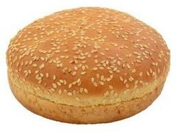 Булочка для гамбургера пшеничная с кунжутом 80г