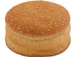 Булочка для гамбургера пшеничная с кунжутом двойная 100г