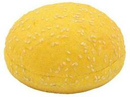 Булочка для гамбургера тыквенная с кунжутом 75г