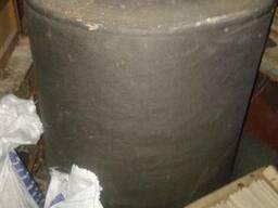 Крафт Бумага чёрная матовая упаковочная в рулонах - фото 2