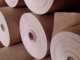 Бумага оберточная, бумага упаковочная