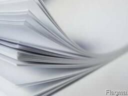 Бумага мелованная, глянцевая, матовая