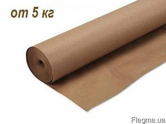 Бумага упаковочная, крафт, оберточная - от 5 кг. (картон)