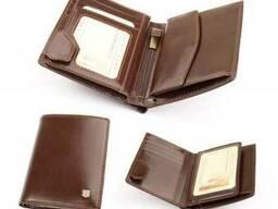 Бумажник женский из итальянской кожи-008D-DF