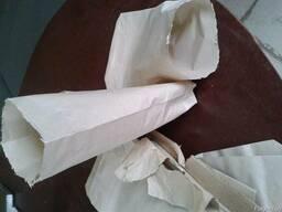 Бумажный пакет c плоским дном для круп, муки, чая, кофе, сып