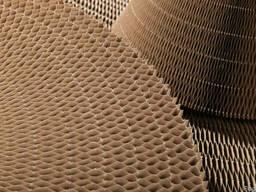 Бумажный сотовый заполнитель, наполнитель, ячейка 30 мм