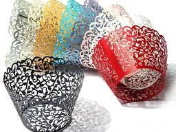 Бумажные формочки для выпечки (12 штук)
