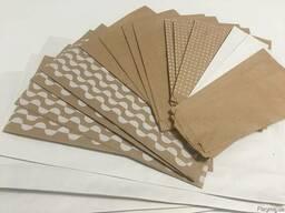 Бумажные крафт-пакеты саше