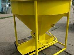 Бункер для бетона конусный, от Производителя. 1. 0 куб. м