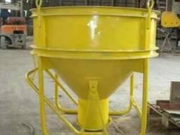 Бункер бетонной массы