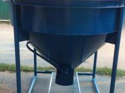 Бункер для бетона конусный 1.0куб.