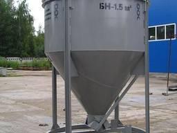 Бункер для бетона неповоротный БН - 2 куб. Колокольчик