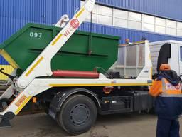 Бункер контейнер для мусора мультилифт, портальный мусоровоз