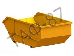Бункер накопительный 8 м. куб. металл 3 мм исполнение №2