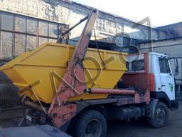 Бункер накопительный для мусора 2, 0 / 3, 0 мм