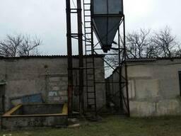 Бункер под зерно. Высота 14 м