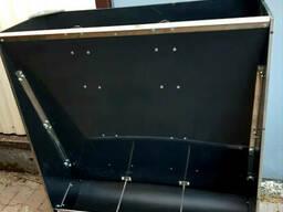 Бункерна кормушка для свиней 3 секції