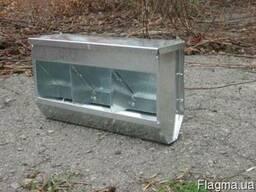 Бункерная кормушка для кроликов БК3-3