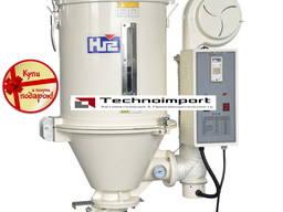 Бункерные сушилки для полимерного сырья ёмкостью 12-1000 кг