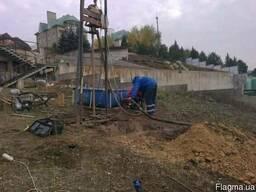 Бурение скважин переносной установкой Харьков