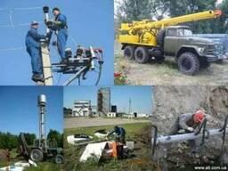 Бурение скважин, водоснабжение, электромонтаж