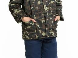 Бушлат камуфляжный, камуфлированная зимняя куртка