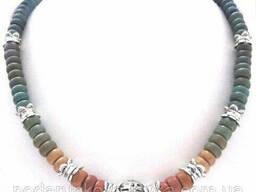 Бусы и серьги - керамика спектр
