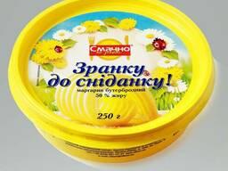 Бутербродный маргарин, 50 %, оптом, экспорт