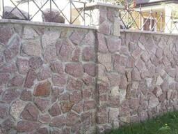 Бутовая кладка заборов, фасадов. Работа с камнем по Крыму.