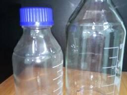 Бутыль для реактивов светлое стекло один литр (1000 мл. )