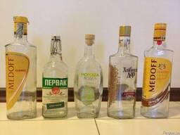 "Бутылка б\у ""первак"" ""медов"" ""хлебный дар"" ""мароша"""