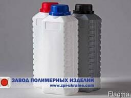 Бутылка пластиковая полиэтиленовая 1 литр