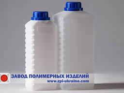Бутылка прямоугольная для лакокрасочных материалов