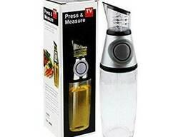Бутылка стекло для масла 500мл с мерной чашечкой R16386-1
