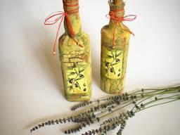 Бутылки декорированные от Domovitto