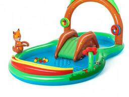 """Детский надувной игровой центр """"Лес"""" Bestway с шариками (53093)"""