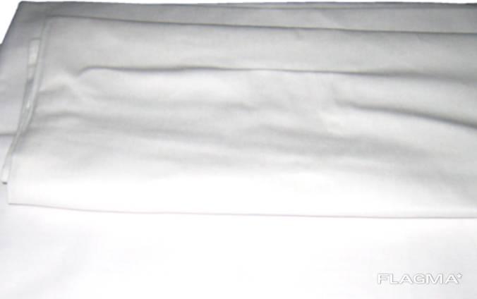 Бязевая простынь 145х210 см