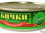 Бычки обжаренные в томатном соусе - фото 1