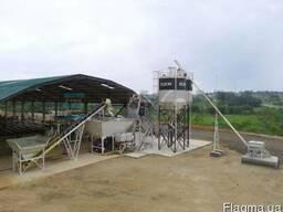 Быстромонтируемый бетонный завод Elkomix-35 Quick Master