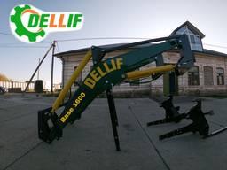 Быстросъёмный погрузчик Dellif Base 1600 без навески