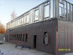 БМЗ здания из ЛСТК. Производство и монтаж по Украине.